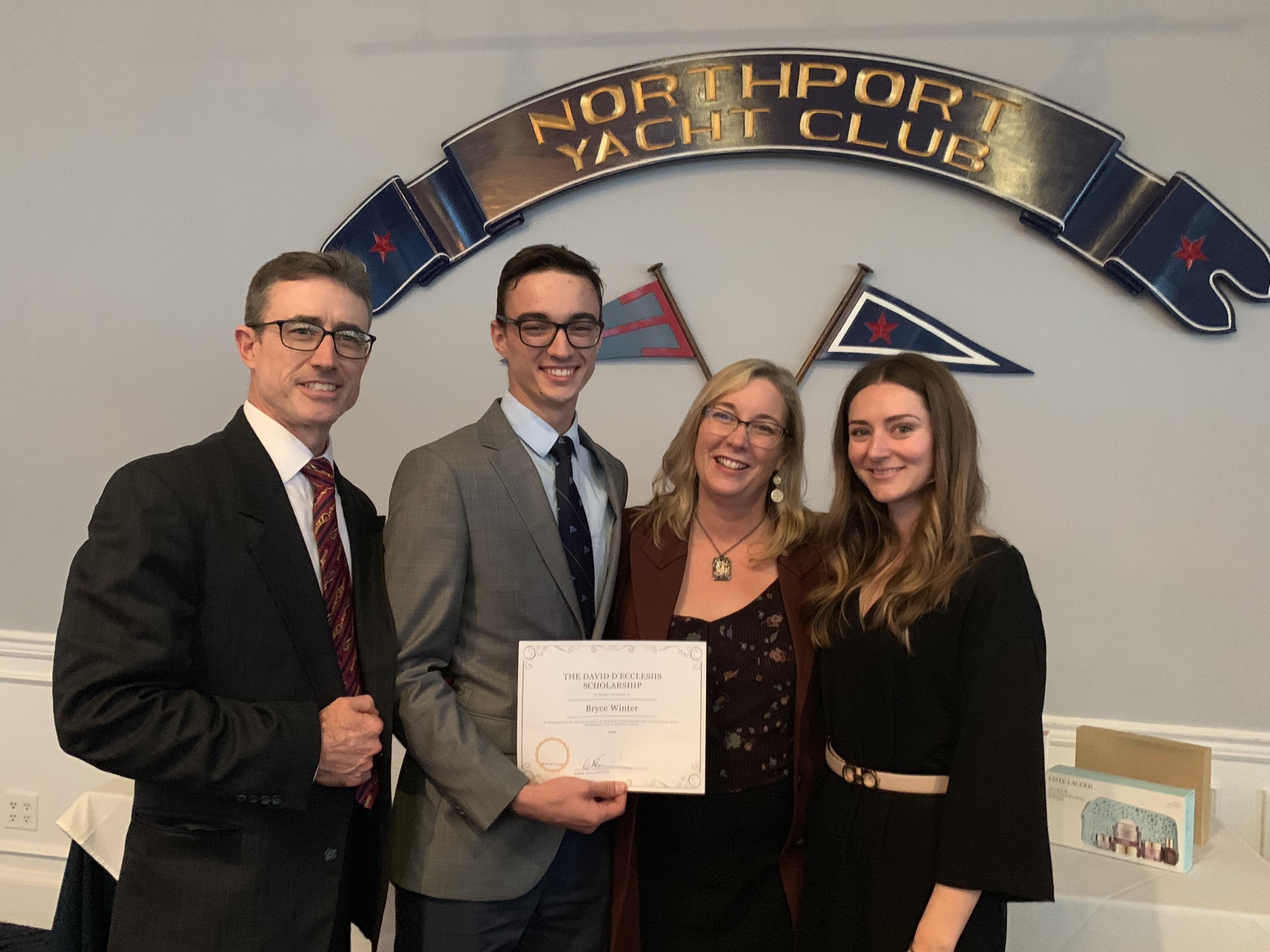 The David D'Ecclesiis Memorial Scholarship Award