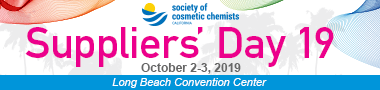 California Society of Cosmetic Chemists Supplier's Day
